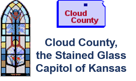 Cloud County - the Stained Glass Capitol of Kansas